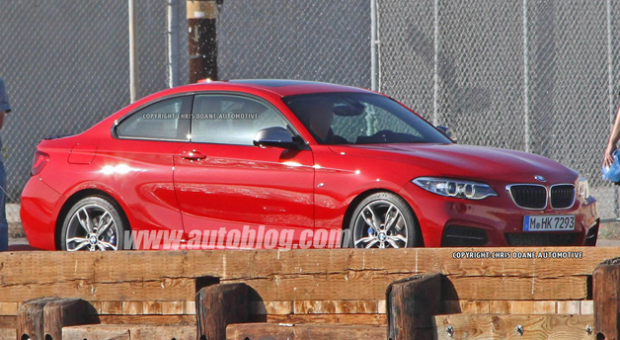 BMW 2-Series Caught Without Camo