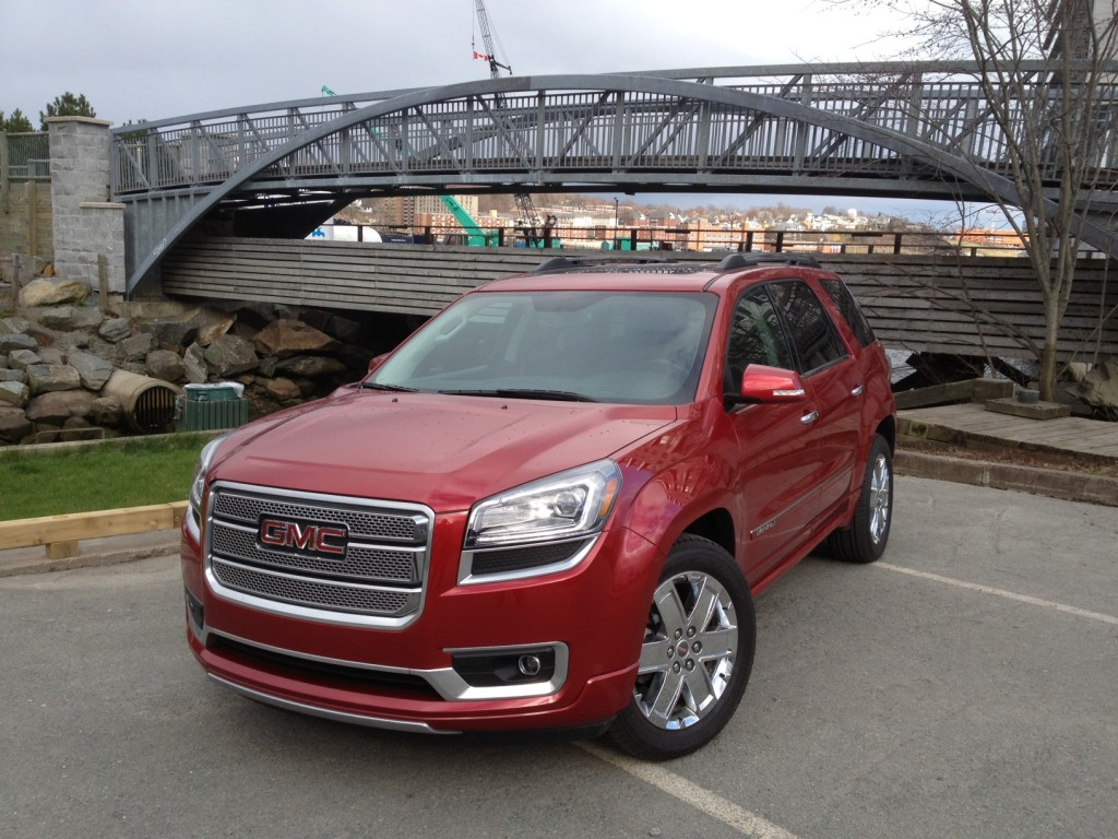 test drive 2013 gmc acadia denali. Black Bedroom Furniture Sets. Home Design Ideas