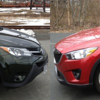 CX-5 GT VS. RAV4 LE