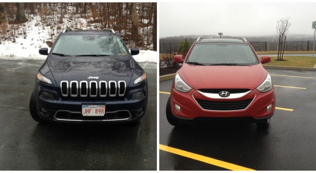 Comparison: 2014 Jeep Cherokee Limited vs. 2014 Hyundai Tucson GLS