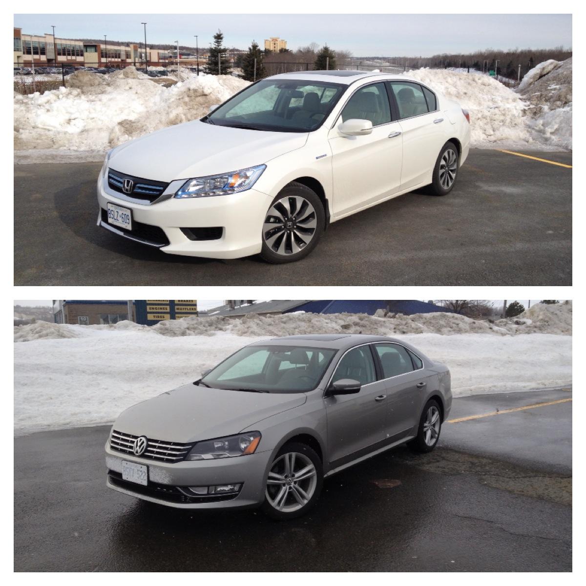 Comparison: 2014 Honda Accord Hybrid Touring Vs. 2014