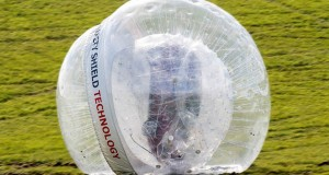 Want To See Nissan Stuff A Car Into A Zorb & Launch It Down A Hill?