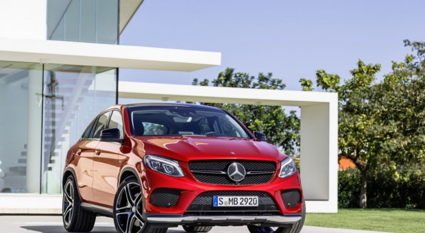 Mercedes-Benz Introduces GLE Class Coupe