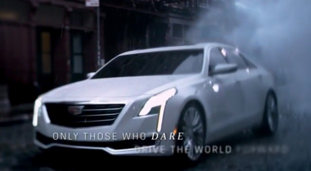 Cadillac's CT6 Makes First Official Debut During Oscars