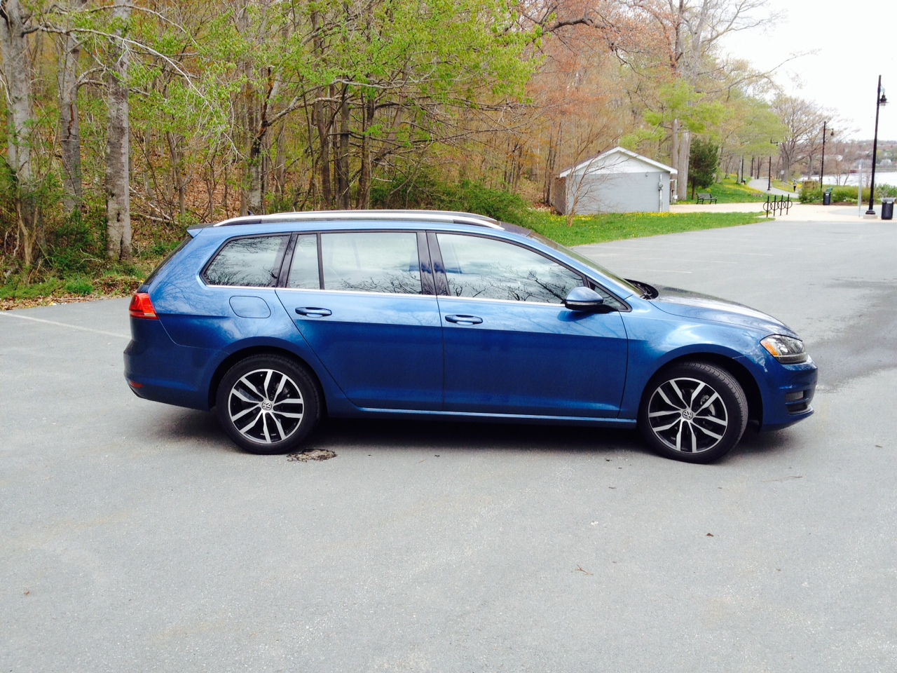 First Drive 2015 Volkswagen Golf Sportwagon Driving
