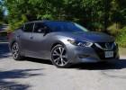 Test Drive: 2016 Nissan Maxima Platinum