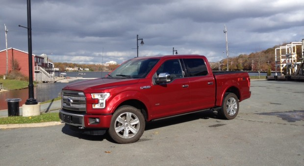 Test Drive: 2015 Ford F-150 4X4 Platinum
