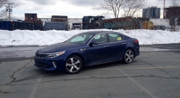 Test Drive: 2016 Kia Optima SXL