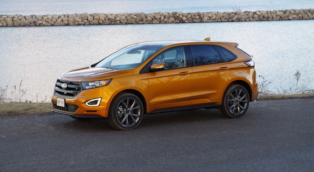 test drive 2016 ford edge sport awd. Black Bedroom Furniture Sets. Home Design Ideas