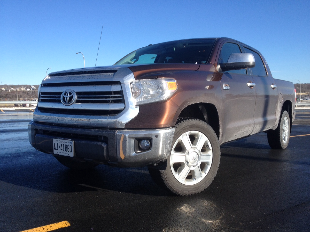 test drive 2016 toyota tundra crewmax platinum 4x4 1794 edition. Black Bedroom Furniture Sets. Home Design Ideas