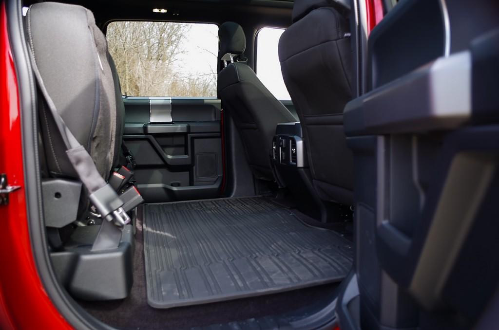 Back seat cargo
