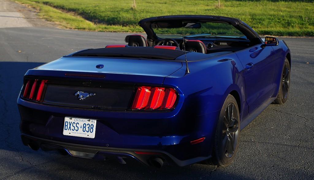 rear corner