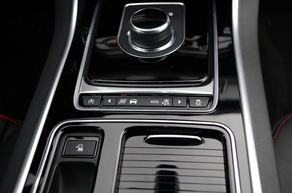 Drivetrain mode selector