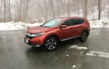 Test Drive: 2017 Honda CR-V Touring