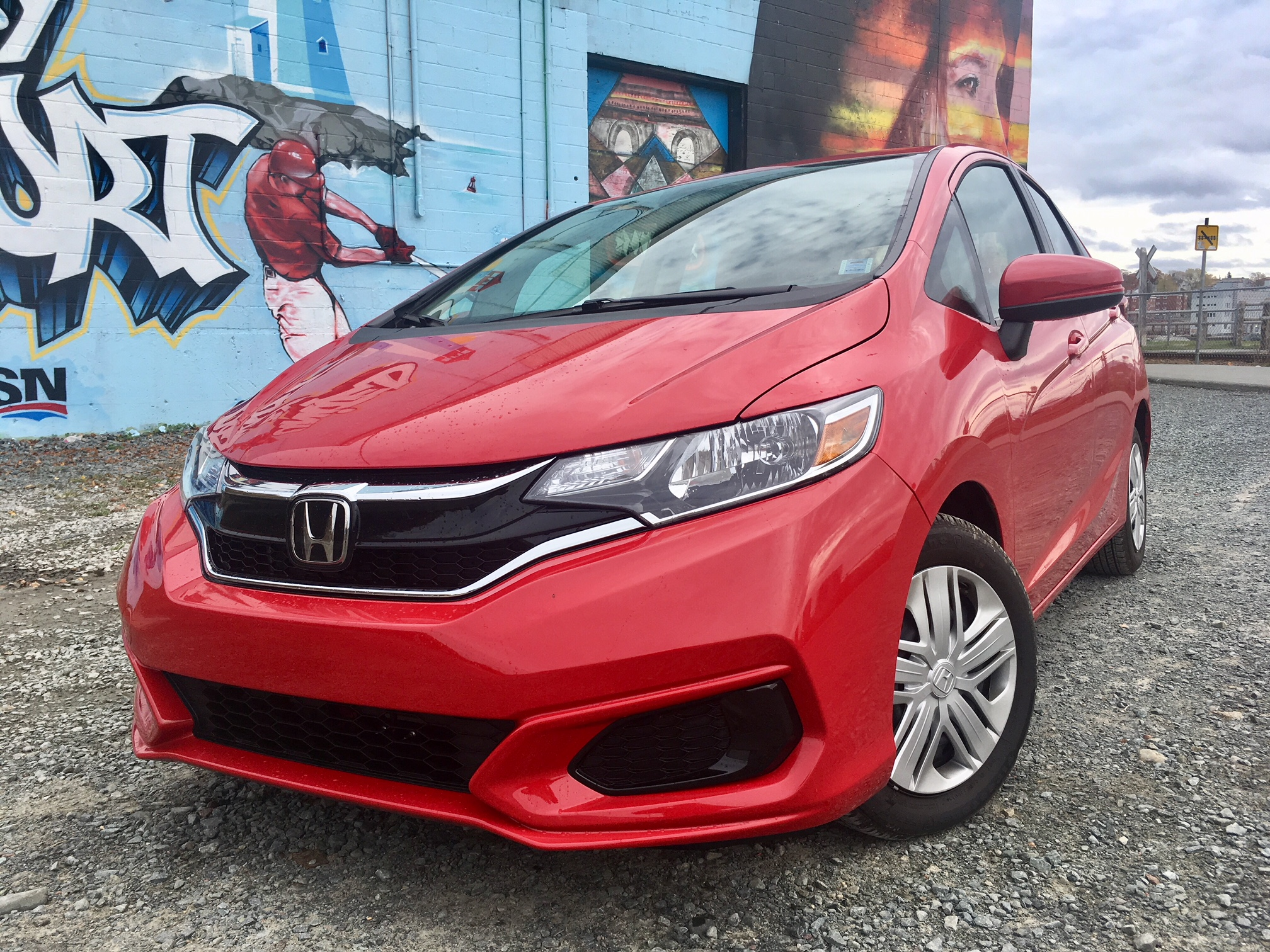Review 2018 Honda Fit LX