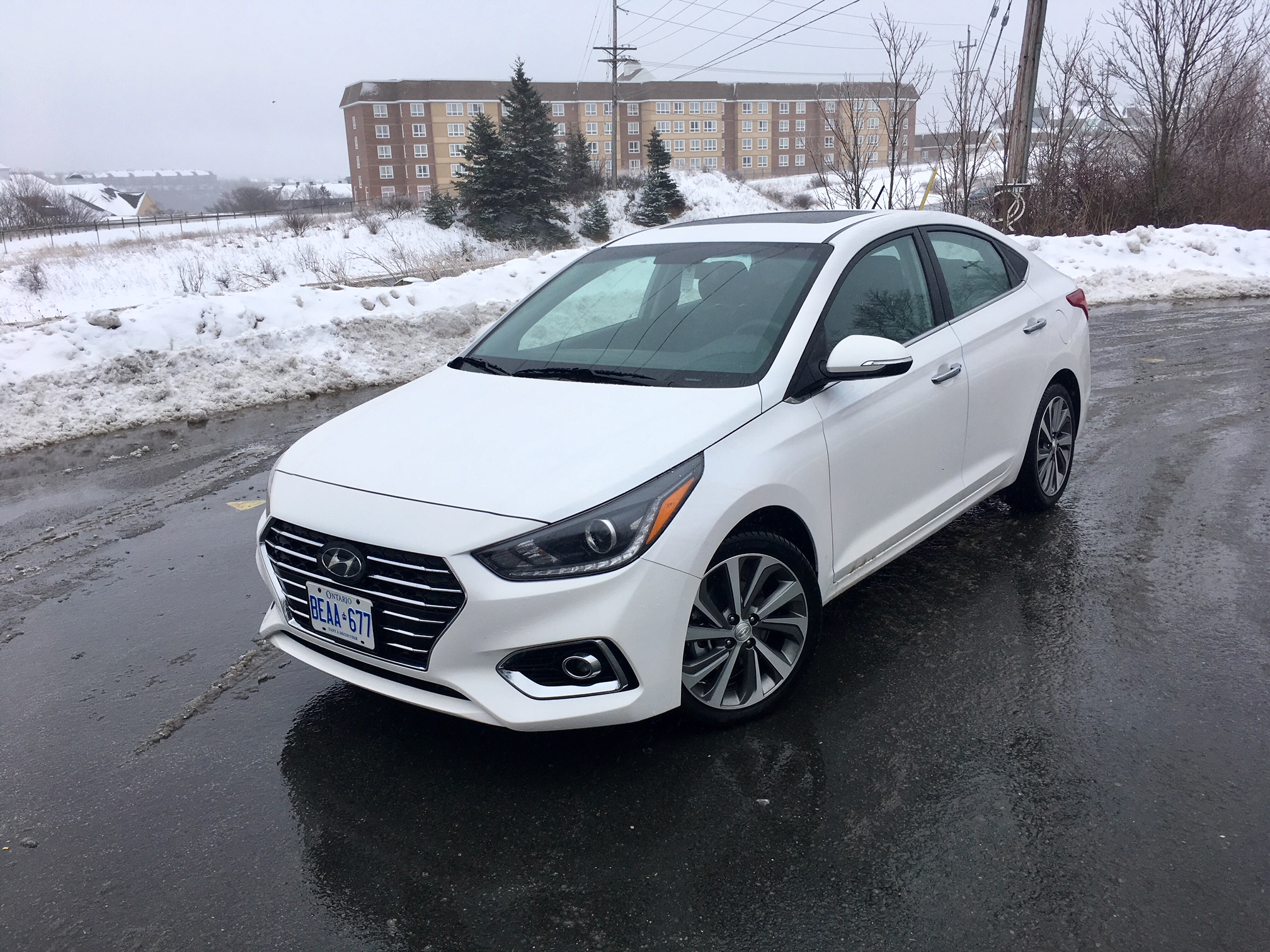Review 2018 Hyundai Accent GLS